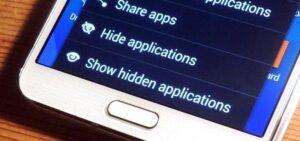 Как скрыть фотографии на Galaxy S8